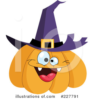 Royalty-Free (RF) Pumpkin Clipart Illustration by yayayoyo - Stock Sample #227791