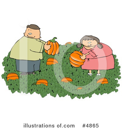 Pumpkin Clipart #4865 by djart