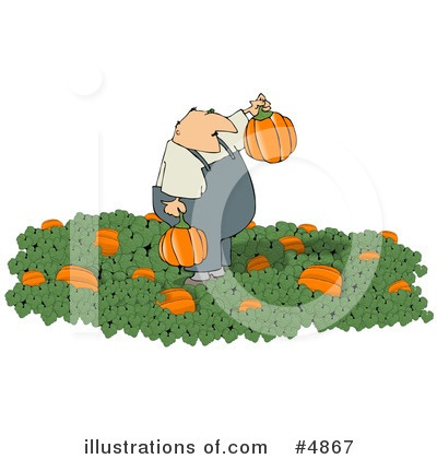 Pumpkin Clipart #4867 by djart