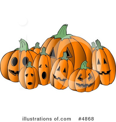 Pumpkin Clipart #4868 by djart