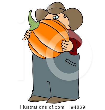 Pumpkin Clipart #4869 by djart