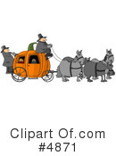 Royalty-Free (RF) Pumpkin Clipart Illustration #4871