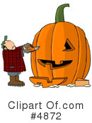 Pumpkin Clipart #4872 by djart