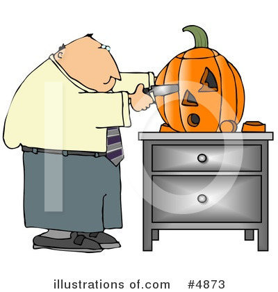 Pumpkin Clipart #4873 by djart