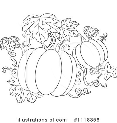 Thanksgiving Clipart #1118356 by Vector Tradition SM