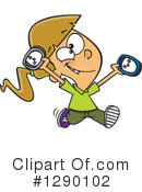Punctual Clipart #1290102 by toonaday