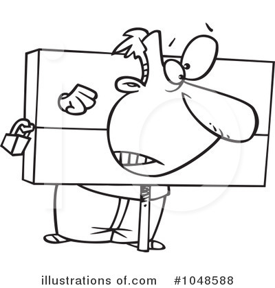 Stocks Clipart #1048588 by toonaday