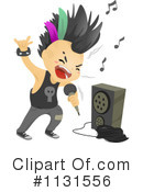 Royalty-Free (RF) Punk Clipart Illustration #1131556