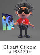 Punk Clipart #1654794 by Steve Young