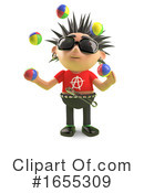 Punk Clipart #1655309 by Steve Young