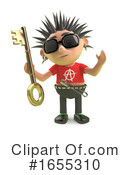 Punk Clipart #1655310 by Steve Young