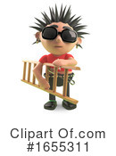Punk Clipart #1655311 by Steve Young