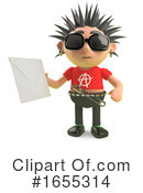 Punk Clipart #1655314 by Steve Young