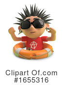Punk Clipart #1655316 by Steve Young