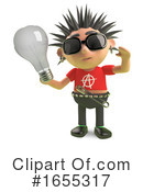 Punk Clipart #1655317 by Steve Young
