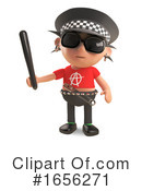 Punk Clipart #1656271 by Steve Young