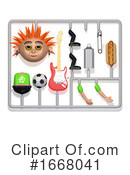 Punk Clipart #1668041 by Steve Young
