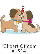 Royalty-Free (RF) puppies Clipart Illustration #15041