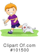 Royalty-Free (RF) Puppy Clipart Illustration #101500