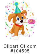Puppy Clipart #104595 by Pushkin