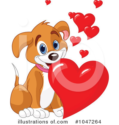 Puppy Love Clipart #1047264 by Pushkin