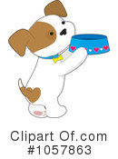 Royalty-Free (RF) Puppy Clipart Illustration #1057863