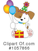Puppy Clipart #1057866 by Maria Bell