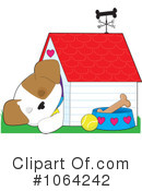 Royalty-Free (RF) Puppy Clipart Illustration #1064242