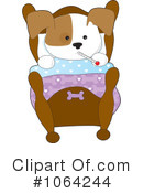 Puppy Clipart #1064244 by Maria Bell