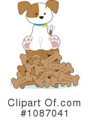 Royalty-Free (RF) Puppy Clipart Illustration #1087041