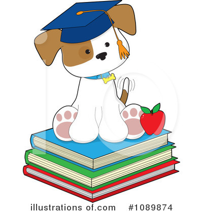 Book Clipart #1089874 by Maria Bell