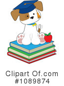 Royalty-Free (RF) Puppy Clipart Illustration #1089874