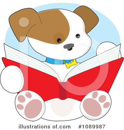 Book Clipart #1089987 by Maria Bell