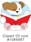 Royalty-Free (RF) Puppy Clipart Illustration #1089987