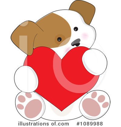 Heart Clipart #1089988 by Maria Bell