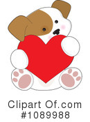 Royalty-Free (RF) Puppy Clipart Illustration #1089988