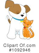 Royalty-Free (RF) puppy Clipart Illustration #1092946