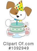 Puppy Clipart #1092949 by Maria Bell