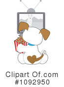 Puppy Clipart #1092950 by Maria Bell