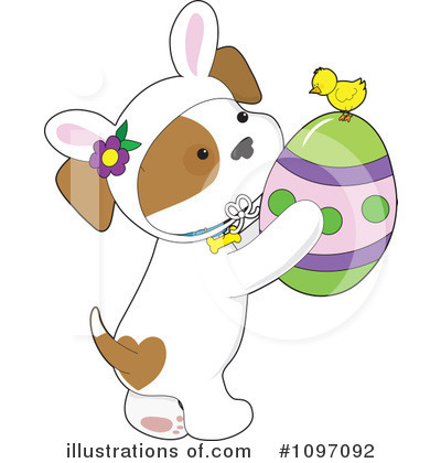 Easter Clipart #1097092 by Maria Bell