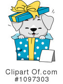 Royalty-Free (RF) Puppy Clipart Illustration #1097303