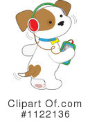 Royalty-Free (RF) Puppy Clipart Illustration #1122136