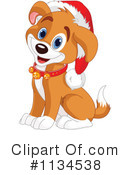 Royalty-Free (RF) Puppy Clipart Illustration #1134538