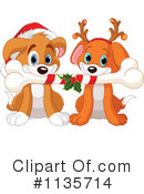 Royalty-Free (RF) Puppy Clipart Illustration #1135714