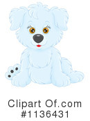 Puppy Clipart #1136431 by Alex Bannykh