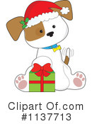Royalty-Free (RF) Puppy Clipart Illustration #1137713
