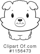 Puppy Clipart #1156473 by Cory Thoman