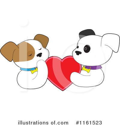 Heart Clipart #1161523 by Maria Bell