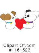 Royalty-Free (RF) puppy Clipart Illustration #1161523