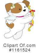 Royalty-Free (RF) Puppy Clipart Illustration #1161524